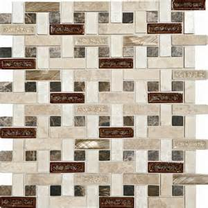 mohawk phase mosaics stone and glass wall tile 5 8 quot x 2