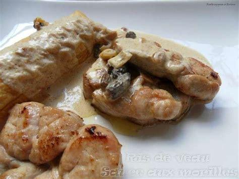 cuisiner morilles les meilleures recettes de veau et morilles
