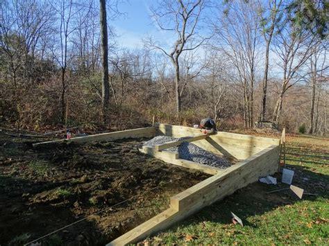 easy shed base nice shed design   build  gravel