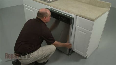 whirlpool dishwasher removal  installation youtube