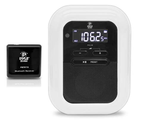 spotify alarm clock iphone pyle plbacs bluetooth digital alarm clock