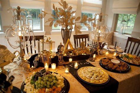 centros de mesa navidenos color dorado