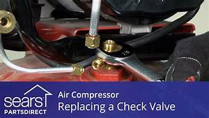 How to Replace an Air Compressor Check Valve - YouTube