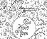 Coloring Adult Pages Enough Am Express Yourself Thegoodstuff Canvas sketch template