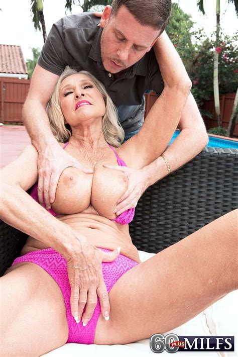 60 granny katia getting fucked by the pool pichunter
