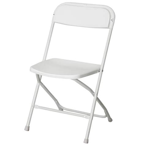 5pcs commercial white plastic folding chairs stackable