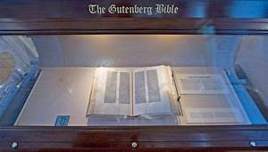 File Gutenberg Bible  On Display At The Library Of Congress Jpg
