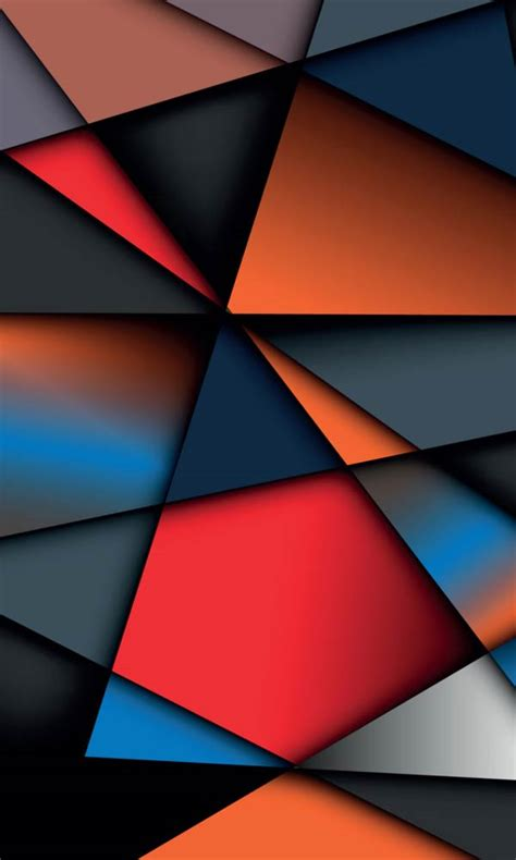 geometric phone wallpaper wallpapersafari
