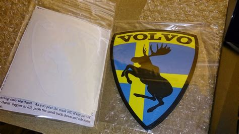 world  volvo prancing moose stickers moose helge