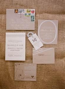 madeline josh39s rustic kraft paper tennessee wedding With wedding invitations on craft paper