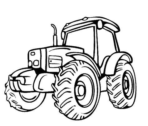 Afbeelding Tractor Kleurplaat by Deere Trekker Kleurplaat