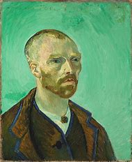 Van Gogh Self Portrait Dedicated to Gauguin