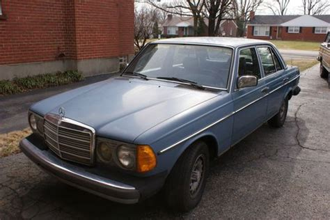 Blue exterior (mb paint code 312) with optional blue leather interior. Buy used 1983 Mercedes Benz 300D Turbo Diesel **Automatic, No Reserve** in Louisville, Kentucky ...