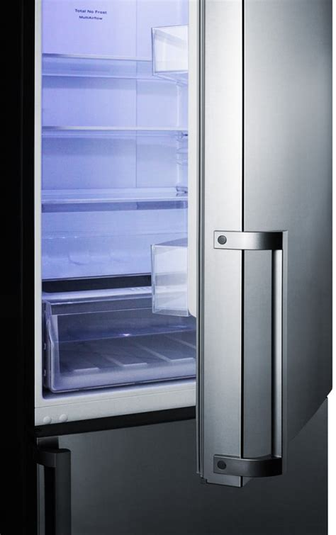 summit ffbfss   counter depth bottom freezer refrigerator  frost  operation