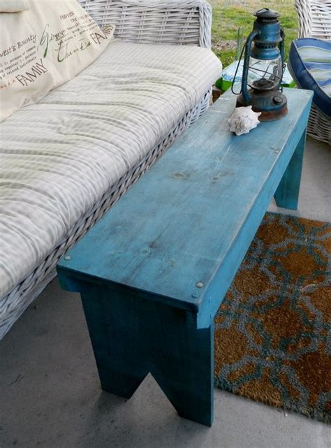primitive wood bench home sweet home farmhouse bench