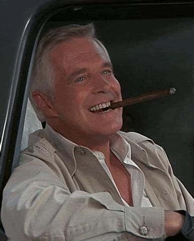 john hannibal smith george peppard   cigar