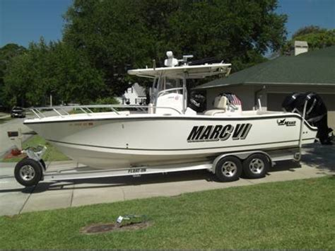 Mako Boats For Sale Craigslist by 2006 Mako 284cc W Twin Verados Trailer For Sale The