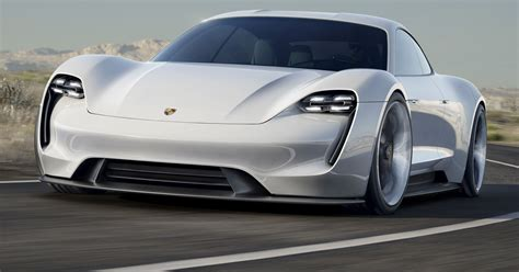 porsche unveils  hp electric sports car concept