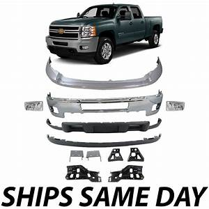 Chrome Front Bumper Bracket Kit 2011