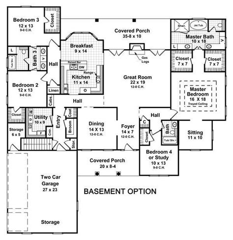 one house plans with basement one house plans with finished basement luxury best