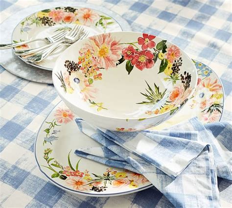 We did not find results for: Floral Rim Dinner Plate, Set of 4 | Pottery Barn