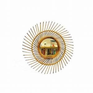 Miroir En Rotin : miroir en rotin ann es 60 ~ Nature-et-papiers.com Idées de Décoration