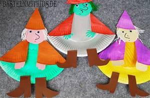 Basteln Halloween Mit Kindern : hexe basteln f r halloween basteln mit kindern und kleinkindern ~ Yasmunasinghe.com Haus und Dekorationen