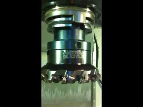 High feed Kennametal KSOM face mill heavy interrupted cut ...