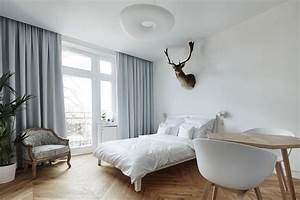 A minimalist studio apartment in krakow design milk for Minimalist studio apartment
