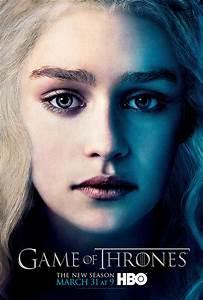 Season 3 - Character Poster - Daenerys Targaryen - Game of ...
