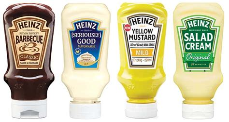 Kraft Heinz guide to the Table Sauces and Condiments ...