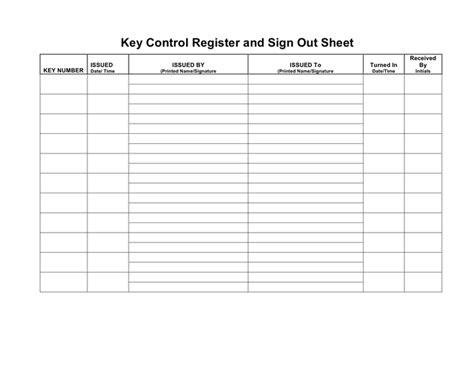 Controlled Register Template Key Register Template Bigstackstudios