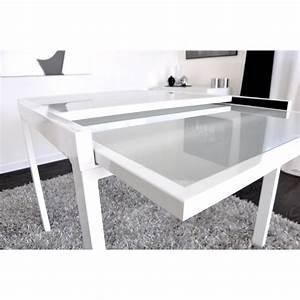 EXTEND Table Extensible Blanche 90180cm AchatVente