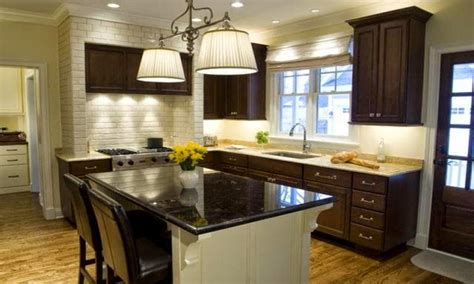 Kitchen Wall Colors With Dark Cabinets Kitchen Paint