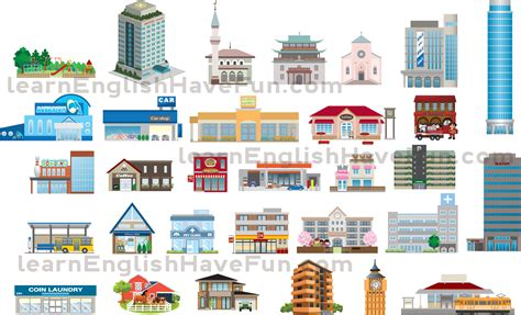 Real Estate & Places Vocabulary
