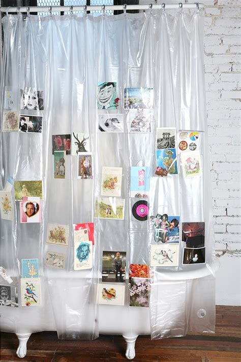 shower curtain with pockets pockets shower curtain holycool net