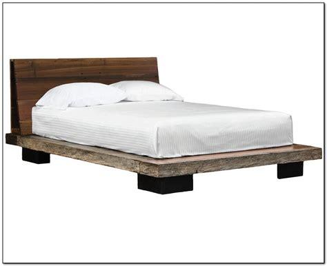 Wood Platform Bed Frame Queen