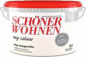 Schöner Wohnen Farbe Betonoptik : sch ner wohnen farbe innenfarbe my colour my magnolia ~ Sanjose-hotels-ca.com Haus und Dekorationen
