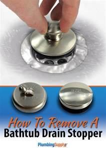 bathtub drain removal for those tub drains that are tough
