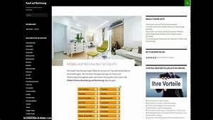 Günstige Möbel Auf Rechnung : wo m bel auf rechnung online kaufen bestellen ~ Themetempest.com Abrechnung