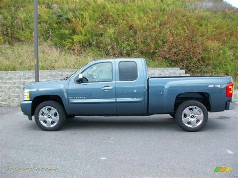 2011 chevrolet silverado 1500 lt extended cab 4x4 in blue