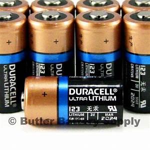 14 x 123 Duracell 3V Ultra Lithium Batteries (CR123A ...