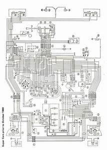 Mk1 Escort Super Wiring Diagram  Full Set  Pre 1969