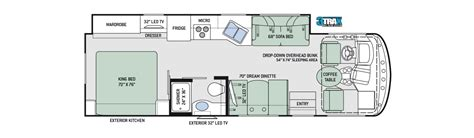 thor class c rv floor plans thor class a motorhomes rv models specifications
