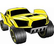 Hot Wheels Clipart Vector  Pencil And In Color