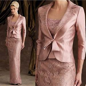 mother of the bride dress with jacket floor length wedding With dresses with jackets to wear to a wedding