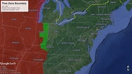 Eastern/Central Time Zone Boundary History - YouTube