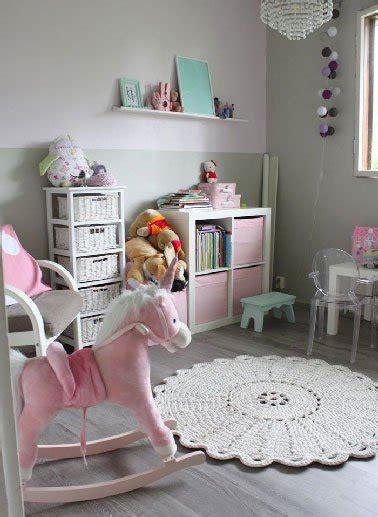 chambre fille avec lit superposé couleur déco pour la peinture chambre fille deco cool