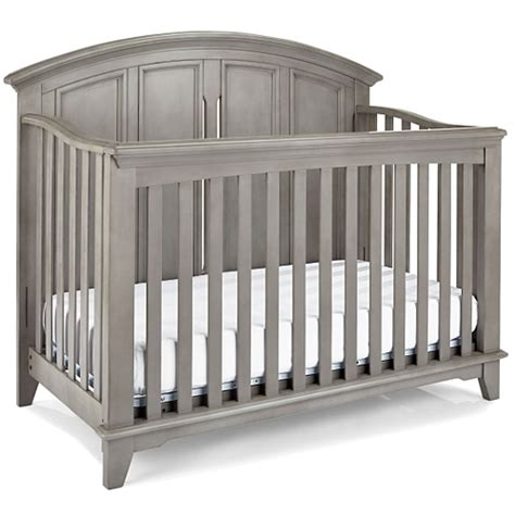 gray convertible crib jonesport convertible crib cloud grey