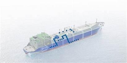 Gas Ship Fuel Carrier Fsru Lng Gi